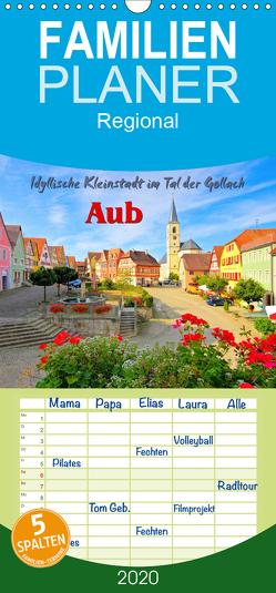 Aub – Idyllische Kleinstadt im Tal der Gollach – Familienplaner hoch (Wandkalender 2020 , 21 cm x 45 cm, hoch) von LianeM