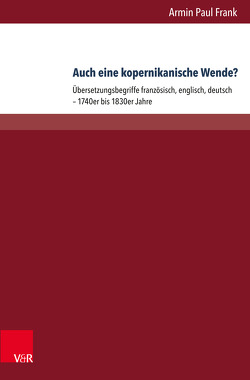 Auch eine kopernikanische Wende? von Frank,  Armin Paul, Kittel,  Harald