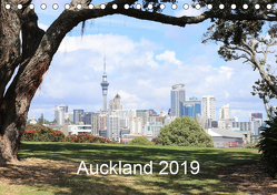 Auckland 2019AT-Version (Tischkalender 2019 DIN A5 quer) von NZ.Photos