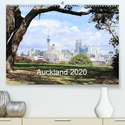 Auckland 2020 (Premium, hochwertiger DIN A2 Wandkalender 2020, Kunstdruck in Hochglanz) von NZ.Photos