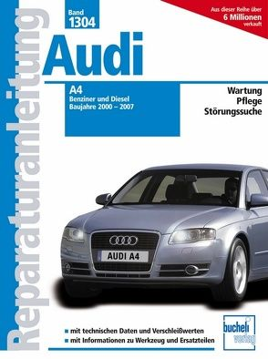 Audi A4 – Baujahre 2000-2007 Benziner/Diesel