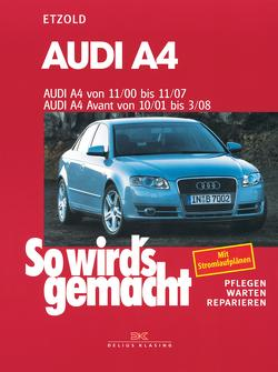 Audi A4 von 11/00 bis 11/07 von Etzold,  Rüdiger