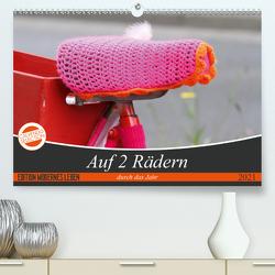 Auf 2 Rädern durch das Jahr (Premium, hochwertiger DIN A2 Wandkalender 2021, Kunstdruck in Hochglanz) von SchnelleWelten