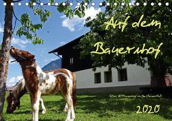 Auf dem Bauernhof – Der Zittrauerhof im Gasteinertal (Tischkalender 2020 DIN A5 quer) von N.,  N.