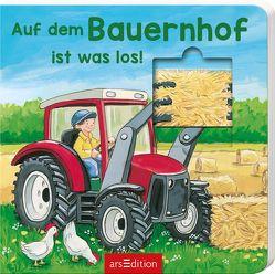 Auf dem Bauernhof ist was los! von Crombach,  Emma, Flad,  Antje