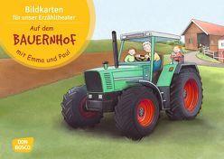Auf dem Bauernhof mit Emma und Paul. Kamishibai Bildkartenset. von Bohnstedt,  Antje, Lehner,  Monika