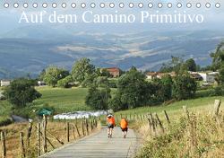 Auf dem Camino Primitivo (Tischkalender 2021 DIN A5 quer) von Nietsch,  Thomas