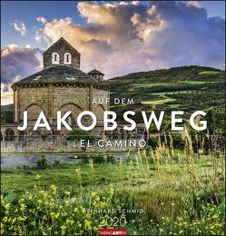 Auf dem Jakobsweg Kalender 2020 von Weingarten