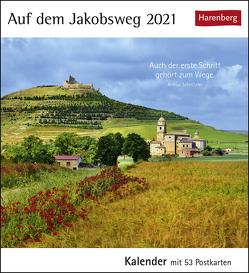 Auf dem Jakobsweg Kalender 2021 von Harenberg