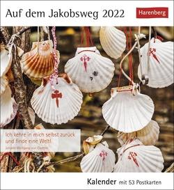 Auf dem Jakobsweg Kalender 2022 von Harenberg