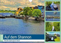 Auf dem Shannon – Mit dem Boot durch Irland (Wandkalender 2019 DIN A4 quer) von Stempel,  Christoph