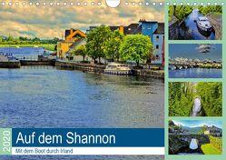Auf dem Shannon – Mit dem Boot durch Irland (Wandkalender 2020 DIN A4 quer) von Stempel,  Christoph