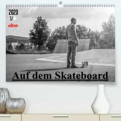 Auf dem Skateboard (Premium, hochwertiger DIN A2 Wandkalender 2020, Kunstdruck in Hochglanz) von Wenk,  Michael