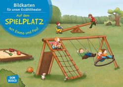 Auf dem Spielplatz mit Emma und Paul. Kamishibai Bildkartenset. von Bohnstedt,  Antje, Lehner,  Monika