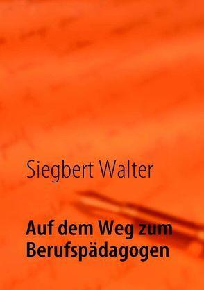 Auf dem Weg zum Berufspädagogen von Walter,  Siegbert