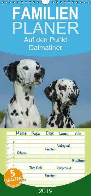 Auf den Punkt – Dalmatiner – Familienplaner hoch (Wandkalender 2019 , 21 cm x 45 cm, hoch) von Starick,  Sigrid
