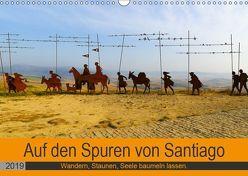 Auf den Spuren von Santiago – Wandern, Staunen, Seele baumeln lassen. (Wandkalender 2019 DIN A3 quer) von Biskupek,  Sylvia