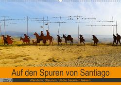 Auf den Spuren von Santiago – Wandern, Staunen, Seele baumeln lassen. (Wandkalender 2020 DIN A2 quer) von Biskupek,  Sylvia