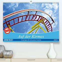 Auf der Kirmes (Premium, hochwertiger DIN A2 Wandkalender 2021, Kunstdruck in Hochglanz) von J. Sülzner [[NJS-Photographie]],  Norbert