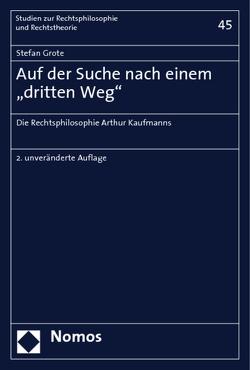 """Auf der Suche nach einem """"dritten Weg"""" von Grote,  Stefan"""