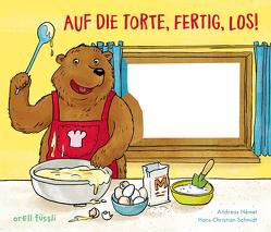 Auf die Torte, fertig, los! von Német,  Andreas, Schmidt,  Hans-Christian