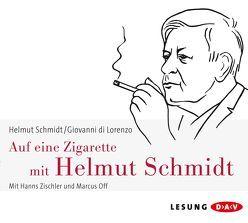 Auf eine Zigarette mit Helmut Schmidt von DiLorenzo,  Giovanni, Off,  Marcus, Schmidt,  Helmut, Zischler,  Hanns