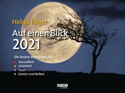 Auf einen Blick 2021 von Föger,  Helga