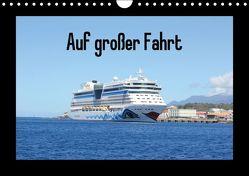 Auf großer Fahrt (Wandkalender immerwährend DIN A4 quer) von und Sebastian Britten,  Christine