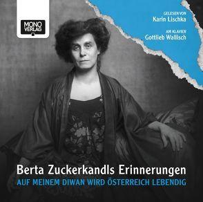 Auf meinem Diwan wird Österreich lebendig von Lischka,  Karin, Wallisch,  Gottlieb, Zuckerkandl,  Berta