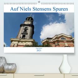 Auf Niels Stensens Spuren (Premium, hochwertiger DIN A2 Wandkalender 2021, Kunstdruck in Hochglanz) von Sabel,  Jörg