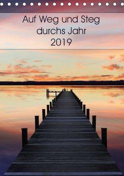 Auf Weg und Steg durchs Jahr 2019 (Tischkalender 2019 DIN A5 hoch) von SusaZoom