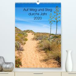 Auf Weg und Steg durchs Jahr 2020 (Premium, hochwertiger DIN A2 Wandkalender 2020, Kunstdruck in Hochglanz) von SusaZoom