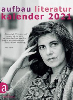 Aufbau Literatur Kalender 2021 von Böhm,  Thomas, Polojachtof,  Catrin