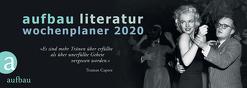 Aufbau Literatur Wochenplaner 2020 von Böhm,  Thomas, Polojachtof,  Catrin