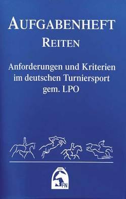Aufgabenheft – Reiten 2012 (Nationale Aufgaben)