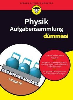 Aufgabensammlung Physik für Dummies von Schwaibold,  Tobias
