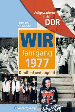 Aufgewachsen in der DDR – Wir vom Jahrgang 1977 – Kindheit und Jugend von Elbe,  Stefan, Jungfer,  Anja