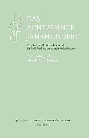 Aufklärung global –globale Aufklärungen von Aprile,  Iwan-Michelangelo