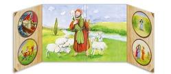 """Aufklapp-Altar """"Der gute Hirte"""" für Kita, Kinderkirche und Familie von Lefin,  Petra"""