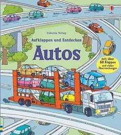 Aufklappen und Entdecken: Autos von Jones,  Rob Lloyd, Tognetti,  Stefano