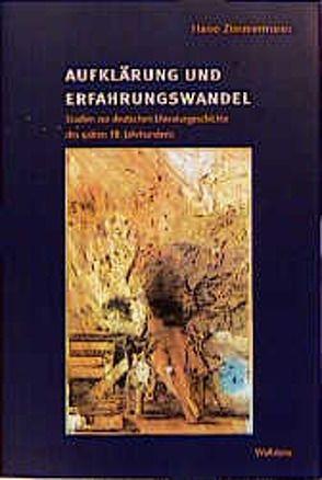 Aufklärung und Erfahrungswandel von Zimmermann,  Harro