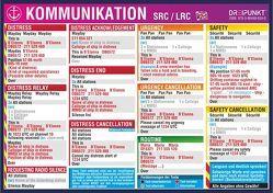Aufkleber Kommunikation SRC/LRC von Schulze,  Michael