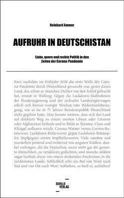 Aufruhr in Deutschistan von Reinhard,  Ammer