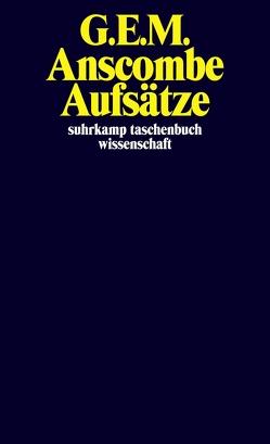 Aufsätze von Anscombe,  G. E. M., Hlobil,  Ulf, Müller,  Anselm W., Nieswandt,  Katharina