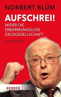 Aufschrei! von Blüm,  Norbert