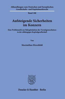 Aufsteigende Sicherheiten im Konzern. von Hirschfeld,  Maximilian