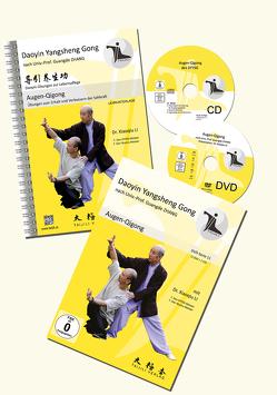 AUGEN-QIGONG SET (DVD,CD,Lehrunterlage) von Dr. Li,  Xiaoqiu