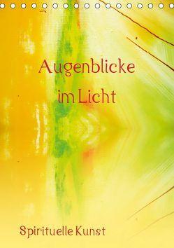Augenblicke im Licht (Tischkalender 2019 DIN A5 hoch) von Ziehr,  Maria-Anna