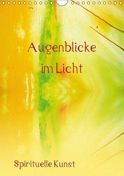 Augenblicke im Licht (Wandkalender 2018 DIN A4 hoch) von Ziehr,  Maria-Anna