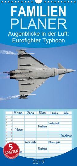 Augenblicke in der Luft: Eurofighter Typhoon – Familienplaner hoch (Wandkalender 2019 , 21 cm x 45 cm, hoch) von Prokic,  Aleksandar